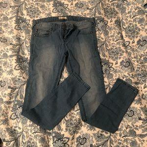 Free people super stretchy skinny jeans sz 30